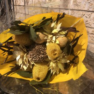 Yellow Dried Bouquet