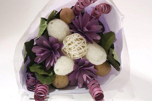 Purple Dried Bouquet